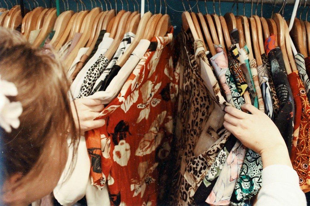 Használt ruhák a fenntarthatóság jegyében